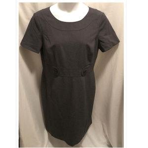 Size 16 Tahari Dress Dark Gray